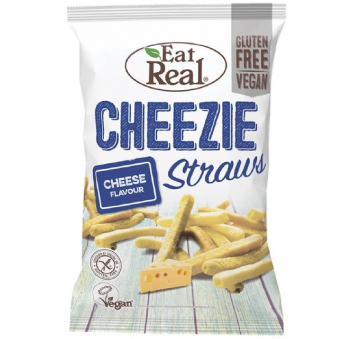 Eat Real Cheeze Straws 45g